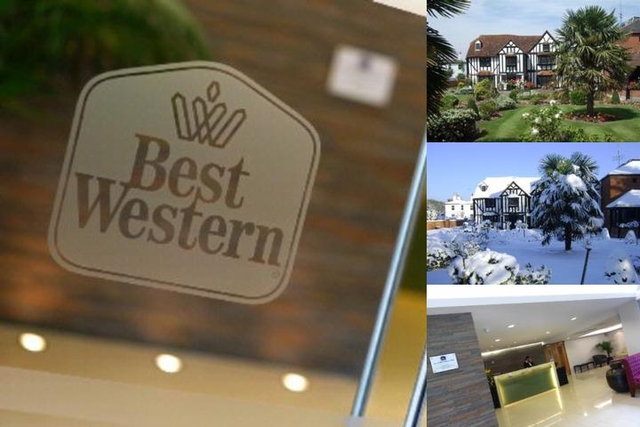 Best Western Donnington Manor photo collage