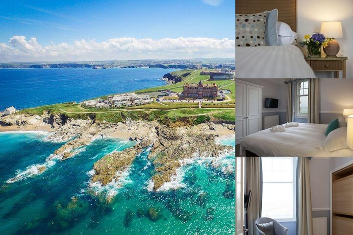 Headland Hotel photo collage