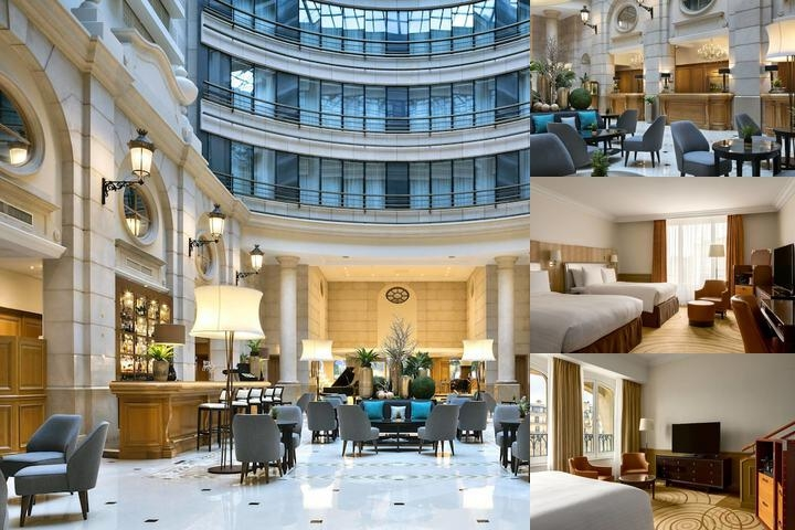 Paris Marriott Hotel Champs Elys?es photo collage