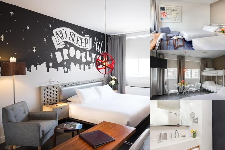 Nu Hotel photo collage