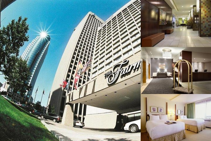 The Fairmont Winnipeg photo collage