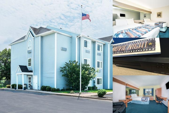 Microtel Inn & Suites by Wyndham Tomah photo collage