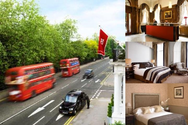 Cadogan Hotel photo collage