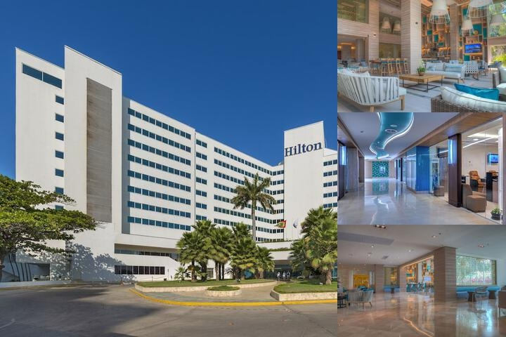 Hilton Cartagena photo collage