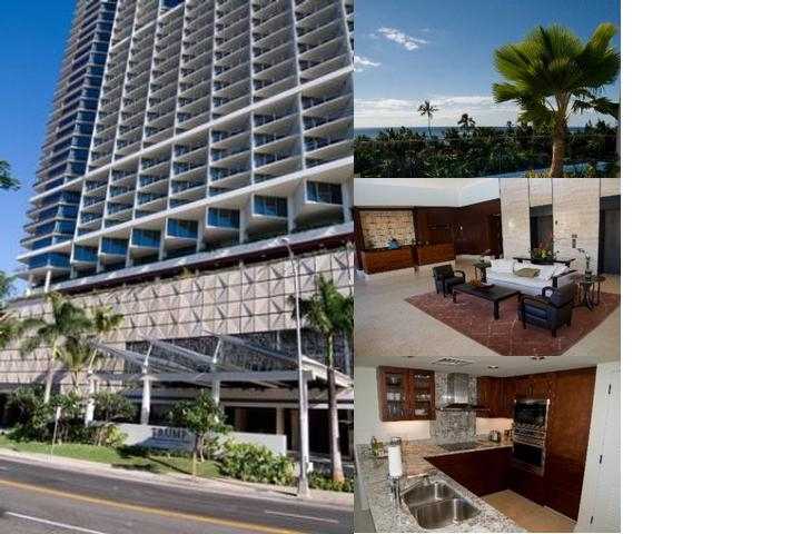Jet Luxury at the Trump Waikiki photo collage