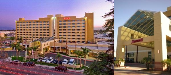 Bakersfield Marriott photo collage