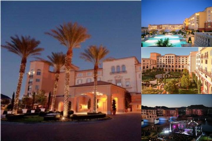 Lake Las Vegas Resort Vacation photo collage