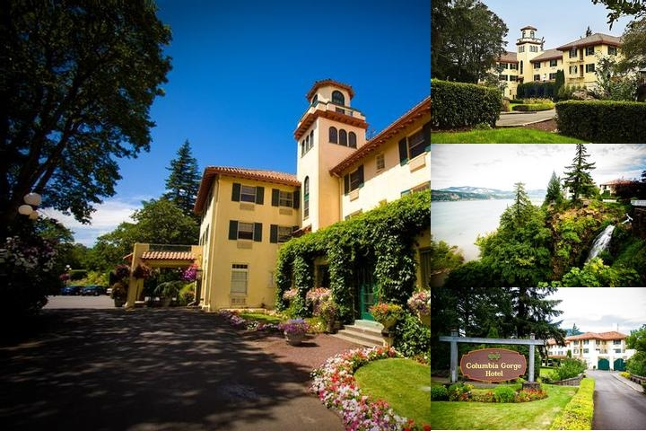 Columbia Gorge Hotel & Spa photo collage