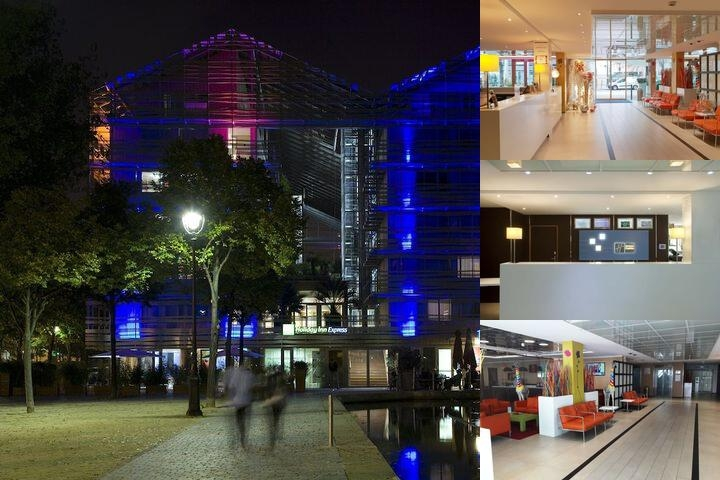 Holiday Inn Express Paris Canal De La Villette photo collage