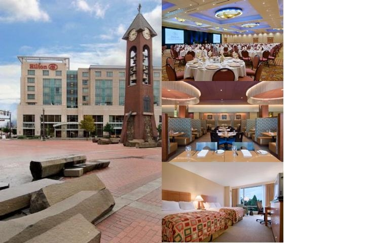 Hilton Vancouver Washington photo collage