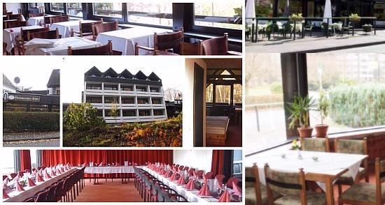 Landhotel Westerwald Restaurant Tagung Bar Cafe photo collage