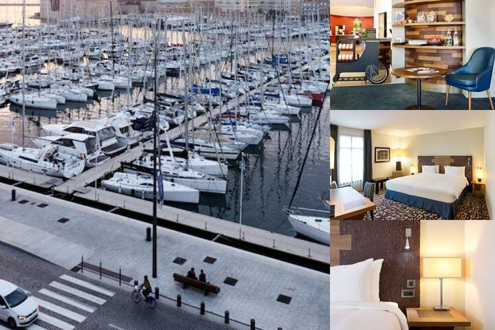 Radisson Blu Hotel Marseille Vieux Port photo collage