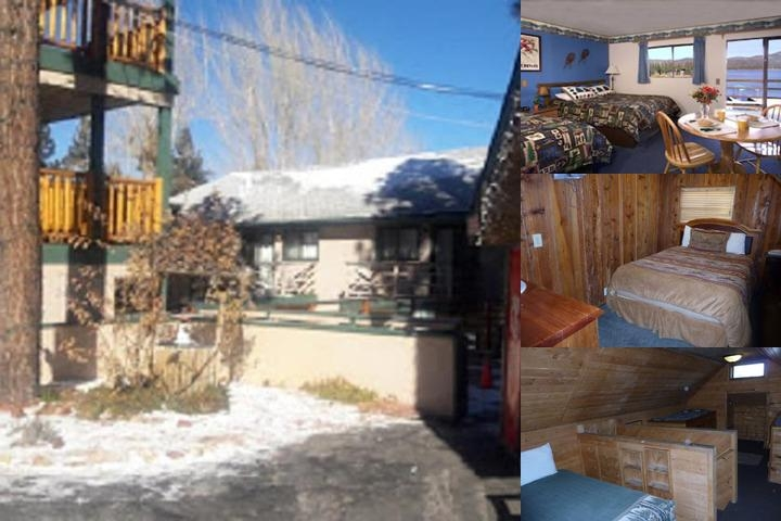 Big Bear Lakefront Lodge photo collage