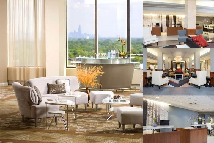 Doubletree by Hilton Chicago North Shore photo collage