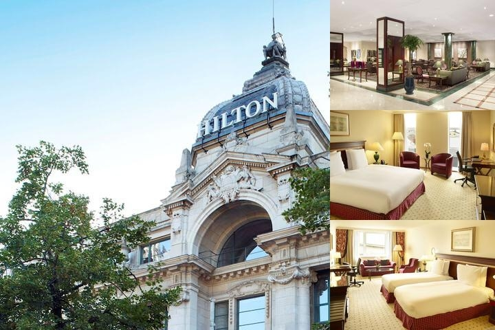 Hilton Antwerp photo collage
