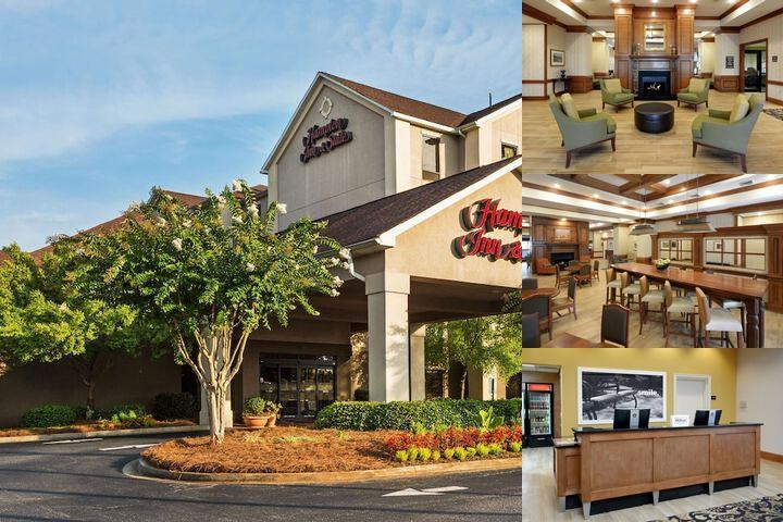 Hampton Inn & Suites Greenville Spartanburg photo collage