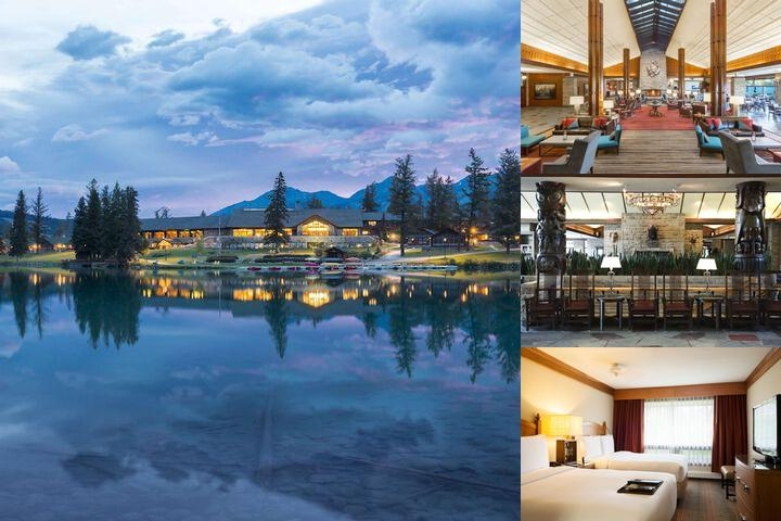 The Fairmont Jasper Park Lodge photo collage