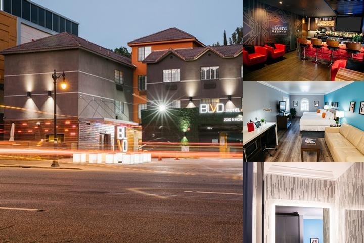 The Blvd Hotel & Spa photo collage
