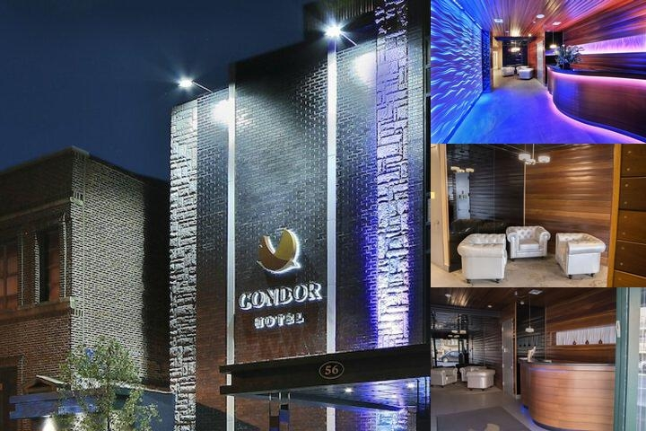Condor Hotel photo collage