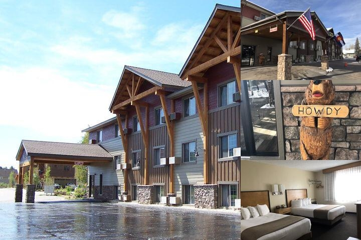 Steamboat Hotel photo collage