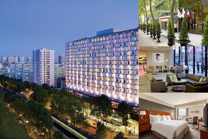 Paris Marriott Rive Gauche Hotel & Conference Cent photo collage