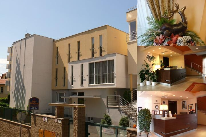 Best Western Hotel Antares photo collage