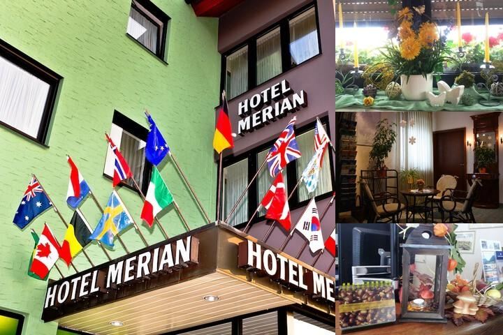 City Partner Hotel Merian photo collage