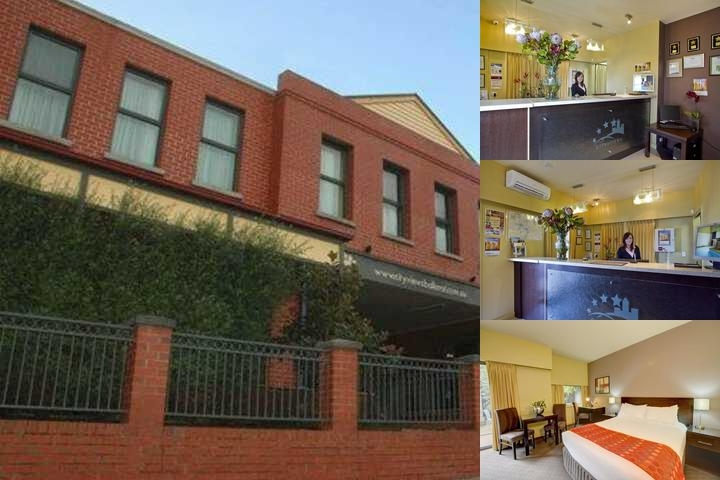 Comfort Inn & Suites City Views Ballarat photo collage