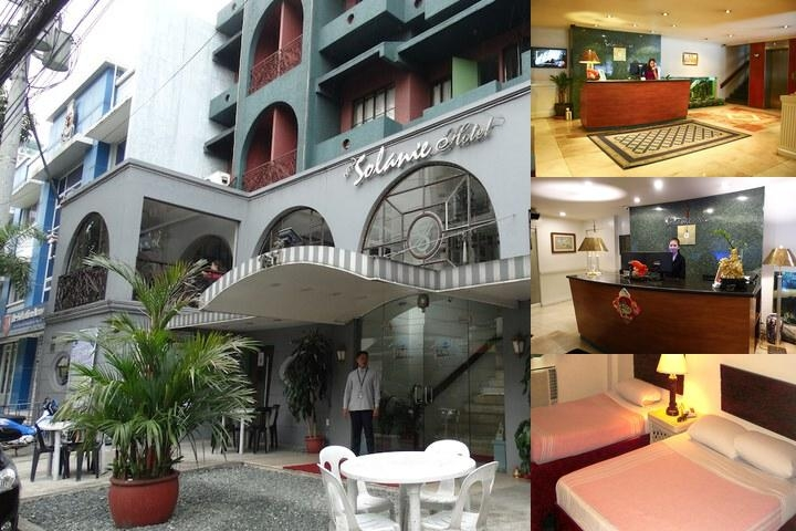 New Solanie Hotel photo collage