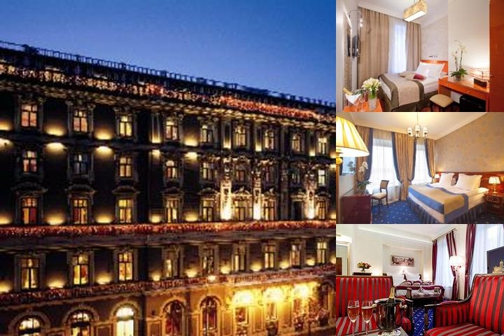 Grand Hotel Europe photo collage