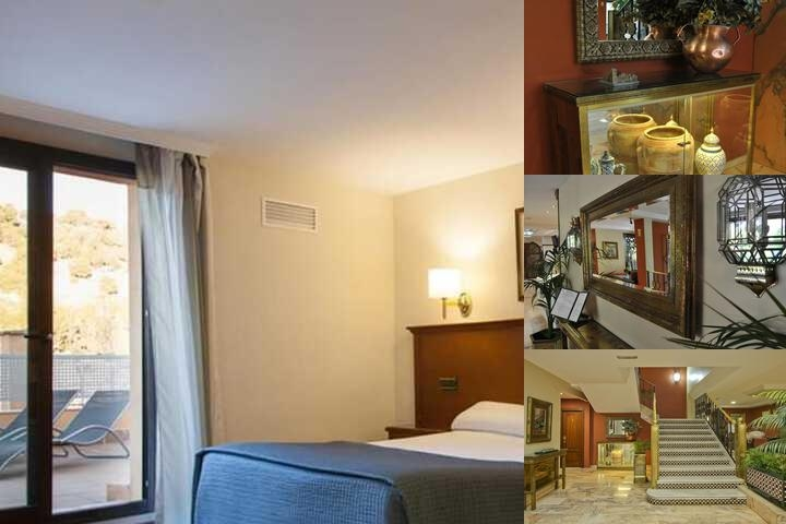 Alixares Hotel photo collage