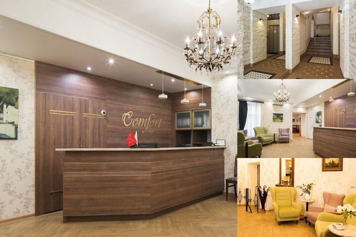 Comfort Hotel photo collage