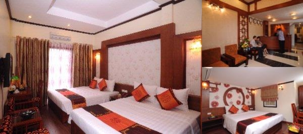 Symphony Hotel Hanoi photo collage