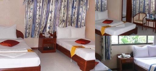 Angkor Saphir Hostel photo collage