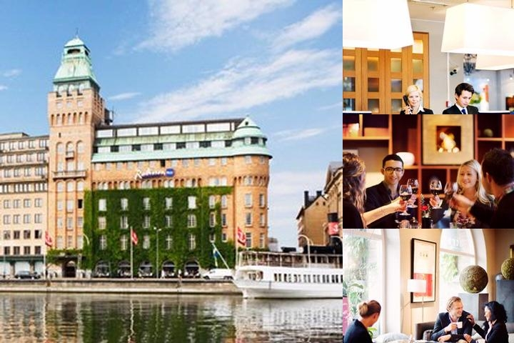 Radisson Blu Strand Hotel Stockholm photo collage