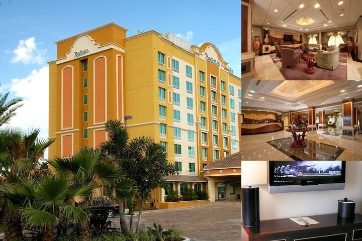 Radisson Hotel Orlando Lake Buena Vista photo collage