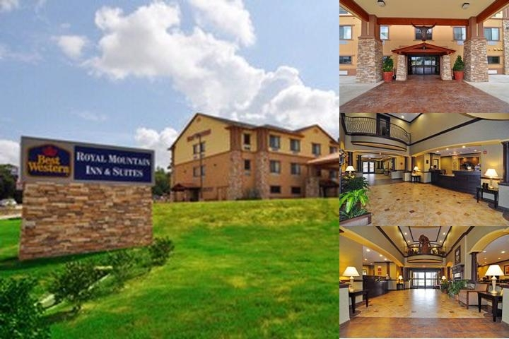 Best Western Plus Royal Mountain Inn & Suites photo collage