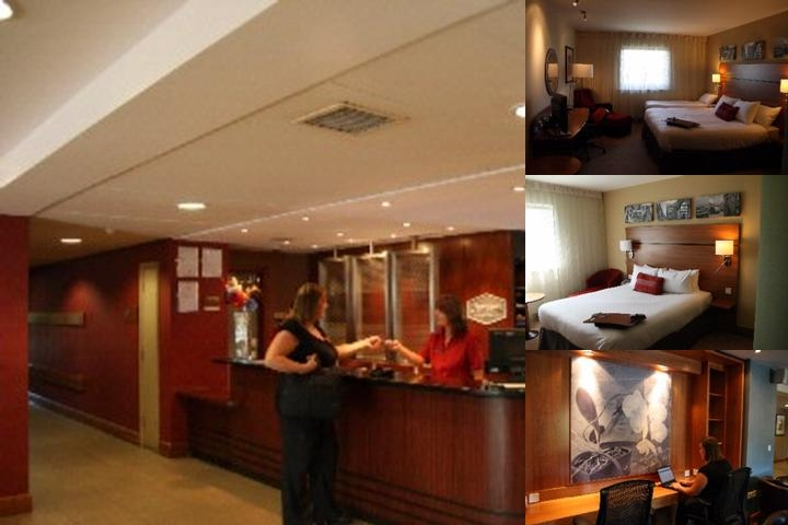Hampton by Hilton Birmingham Star City photo collage