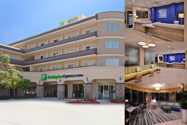 Holiday Inn Express Hotel Suites Pasadena Photo Collage