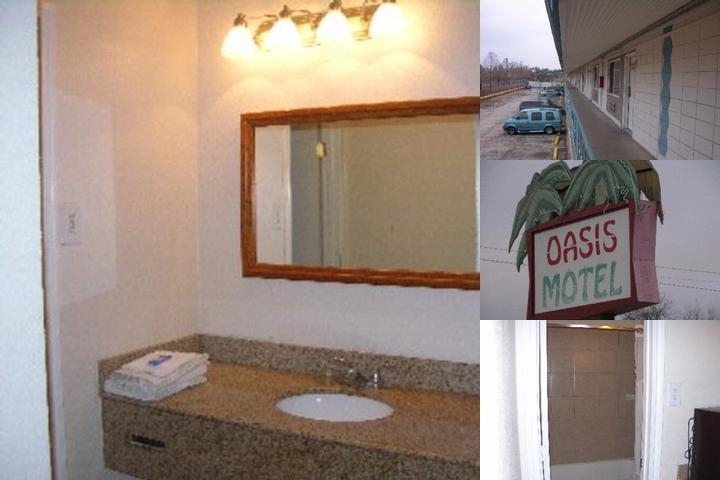 Oasis Motel photo collage