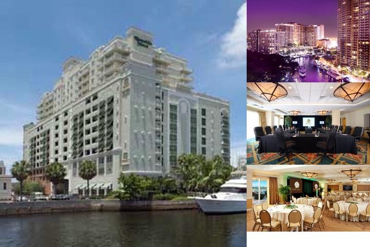 Riverside Hotel photo collage