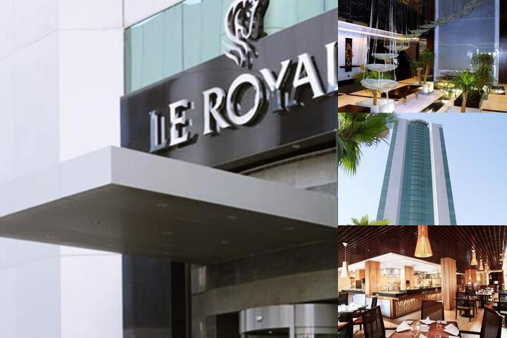 Le Royal Tower Hotel photo collage