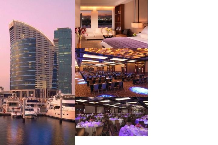 Intercontinental Dubai Festival City photo collage