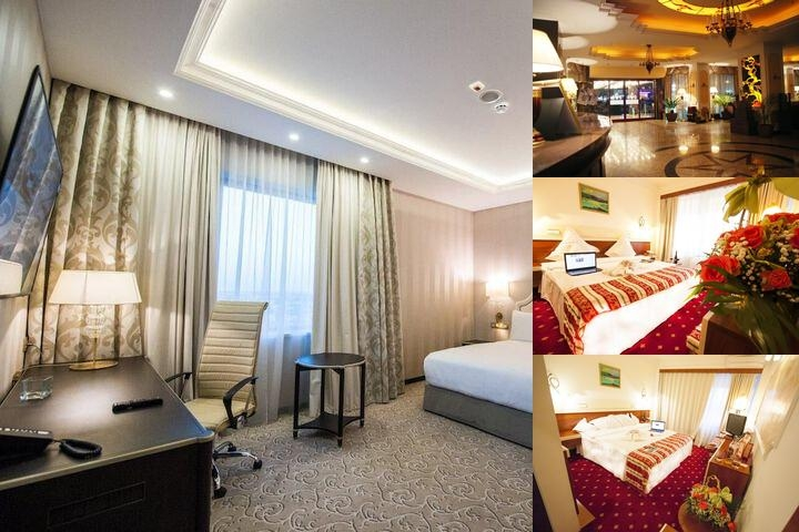 Prahova Plaza Hotel photo collage