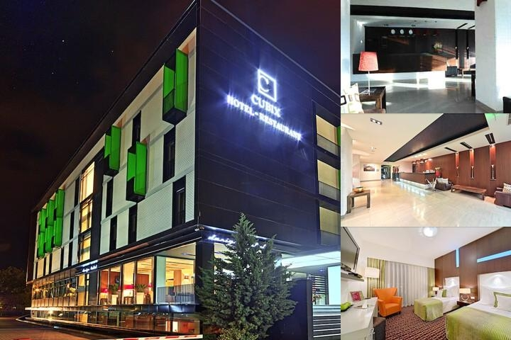 Hotel Cubix photo collage