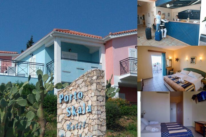 Porto Skala Hotel Village photo collage