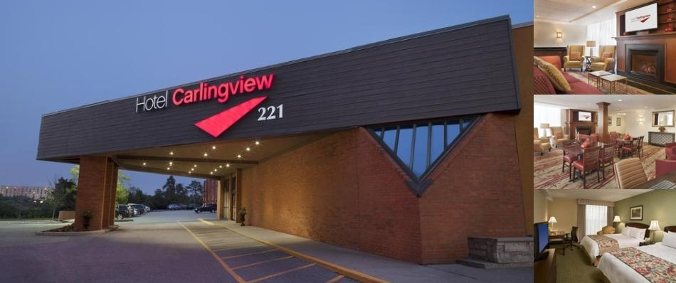 Hotel Carlingview Toronto Airport photo collage