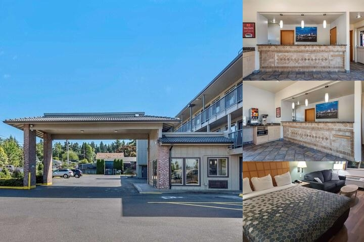 Econo Lodge Portland Airport photo collage