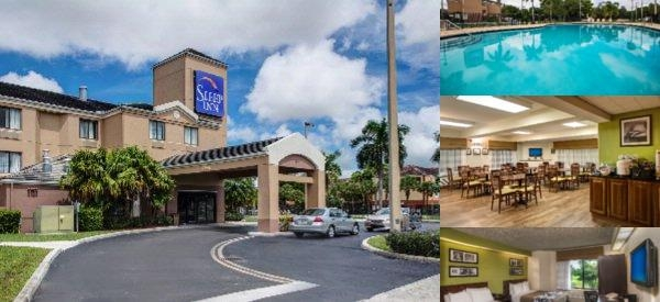 Sleep Inn Miami Airport photo collage