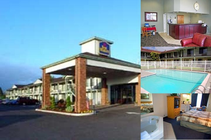 Super 8 Creswell Inn photo collage